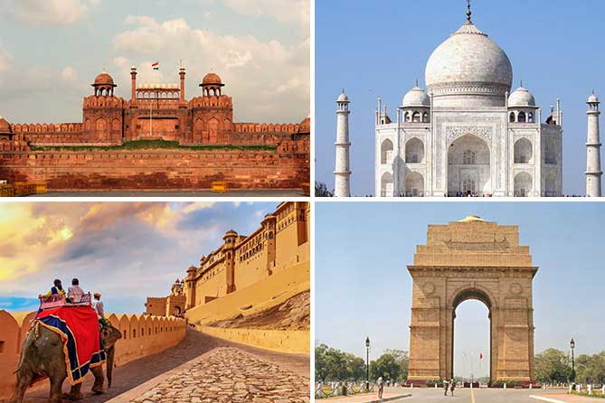 6N 7D Golden Triangle Tour Packages