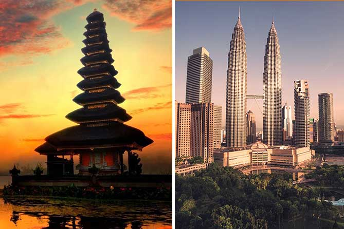 Bali Malaysia 8 Days Tour Packages