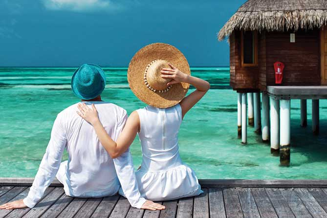 Honeymoon in Maldives 4 Days Tour