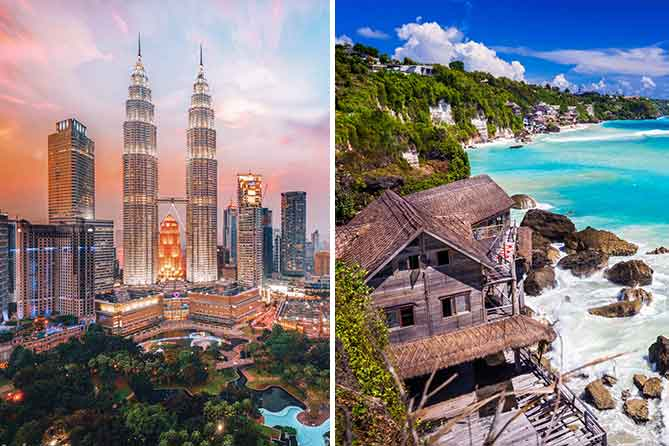 Malaysia & bali 7 Days Tour Packages