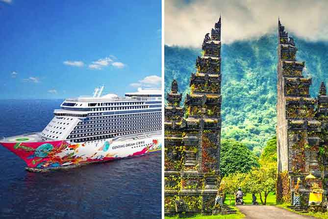 Singapore with Cruise and Bali Tour Packages- Nitsa Holidays