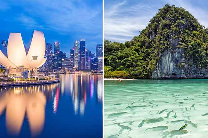 7 Days Singapore with Phuket tour packages