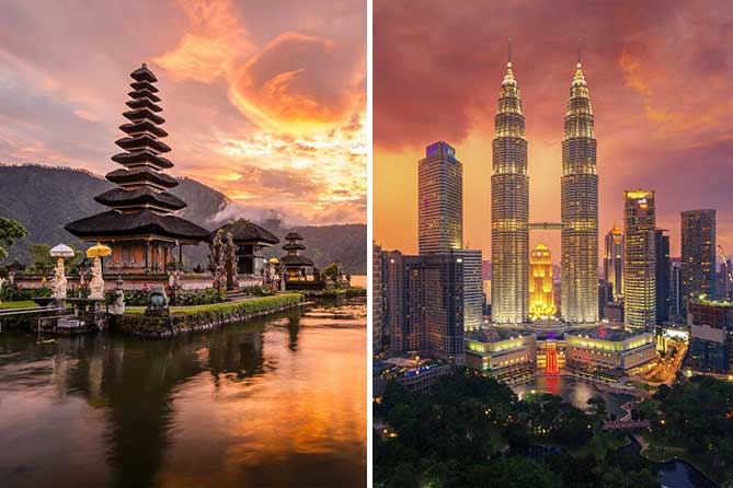 Bali Malaysia 7 Days Tour Packages