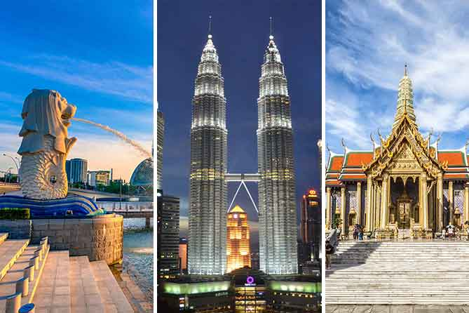 Malaysia & Thailand 9 Days tour packages