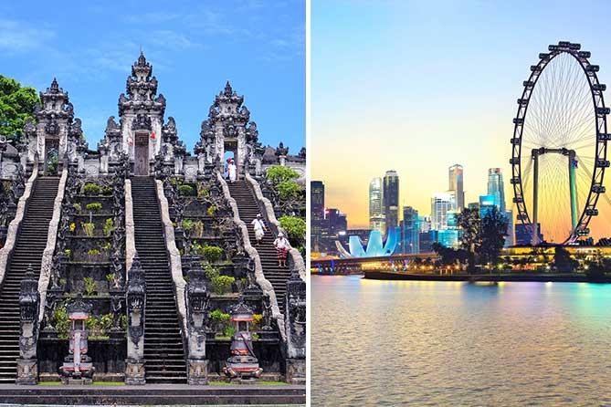 Singapore Bali 7 Days Holiday Tour Packages